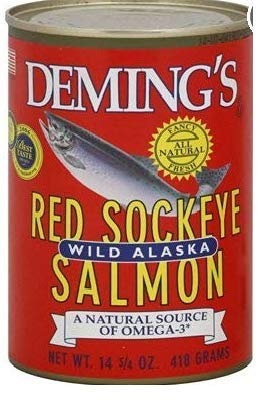 Deming's Wild Caught Alaskan Salmon, 14.75 oz