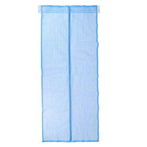 Sommer Anti-Moskito-Bildschirme Mehrfarbige Anti-Moskito-Vorhänge Anti-Insekten-Weichgarne schließen automatisch die Bildschirme A2 B90xH210