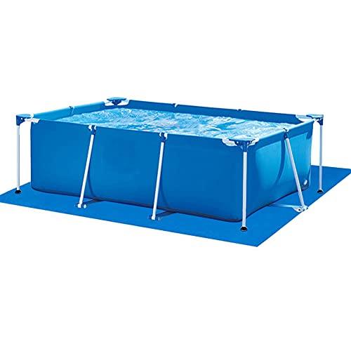 LICHENGTAI zwembad gronddoek, zwembad mat vloerbeschermer, rechthoekige grondplaat voor zwembad, opvouwbare grondzeil…