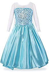 Sky Blue Dress Costume for Comfort in Mind Elegant Style