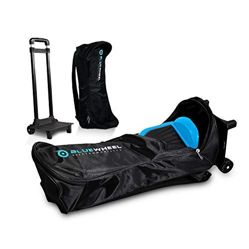 Bluewheel CASE6.5 / CASE10 Bolsa de Transporte Patinete eléctrico - Trolley con 2 Ruedas, Respaldo Acolchado, asa retráctil y Malla - Repelente al Agua para 6,5 o 10 Pulgadas(Case 6.5)