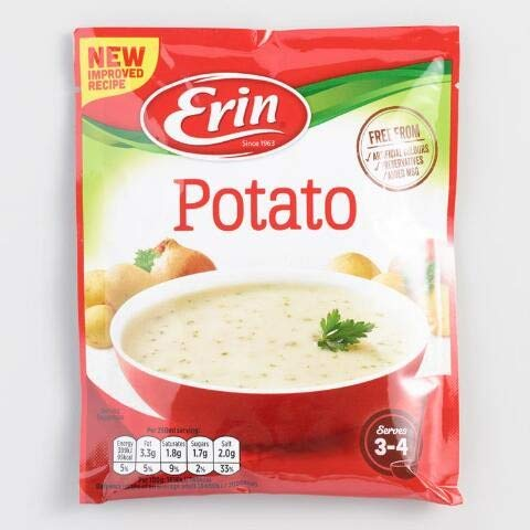 Erin Potato Soup 84g x 2 Packets (Kartoffelsuppe)