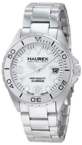 Haurex Italy Haurex Italia Argento Quadrante Argento alluminio Mens...