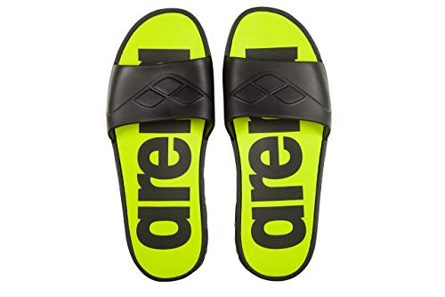 Arena watergrip m Footwear, Hombres, Black-Lime, 42