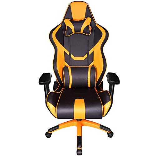 Silla de oficina, silla de oficina, silla de oficina, silla ergonómica para ordenador, soporte ergonómico, patas de aleación de aluminio lacado, reposabrazos neumáticos.
