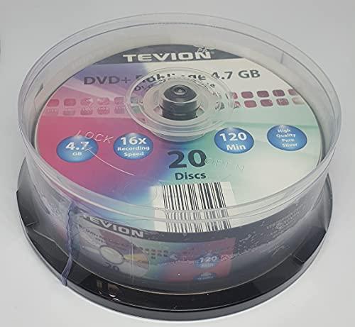 Tevion Pure Silver DVD + Rohlinge | 4.7...