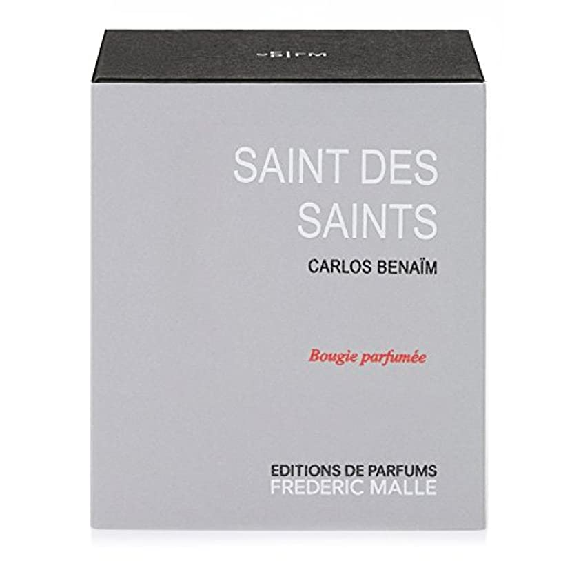悲観的発揮する担保フレデリック?マル聖人デ聖人の香りのキャンドル220グラム x6 - Frederic Malle Saint Des Saints Scented Candle 220g (Pack of 6) [並行輸入品]