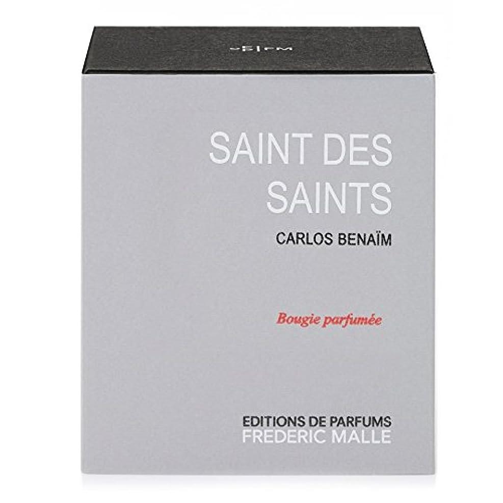 とは異なり等しい蒸発Frederic Malle Saint Des Saints Scented Candle 220g (Pack of 4) - フレデリック?マル聖人デ聖人の香りのキャンドル220グラム x4 [並行輸入品]