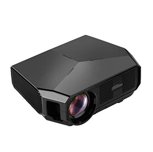 Proiettore Proiettore Home Theater Videoproiettore 3200 Lumen 3000: 1 di Contrasto 1280x720P Proiettore HD (Color : Black, Size : One Size)