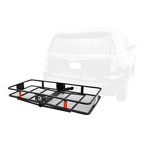 Retrospec Cascade Folding Basket Style Cargo Rack with 2 inch Hitch
