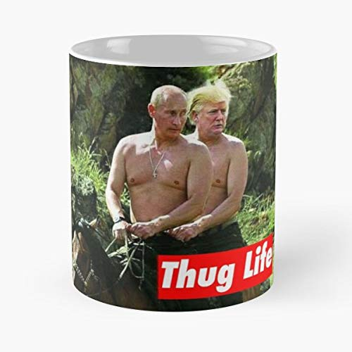 Trump Putin Make Russia Great Again America -Bestes 11 Unze-Keramik-Kaffeetasse Geschenk