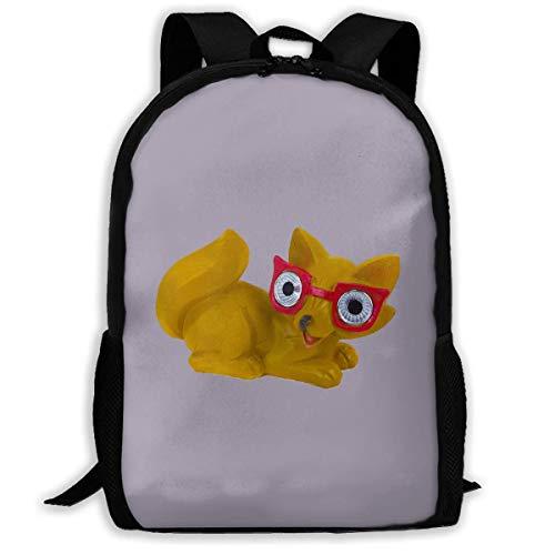 Cute Eyes Animal Print Adulto Mochila Laptop para Adultos, niños Mayores