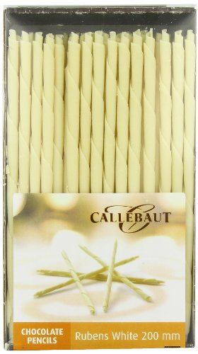 Callebaut Rubens - Cigarrillos de Chocolate Blanco (200mm) 900g