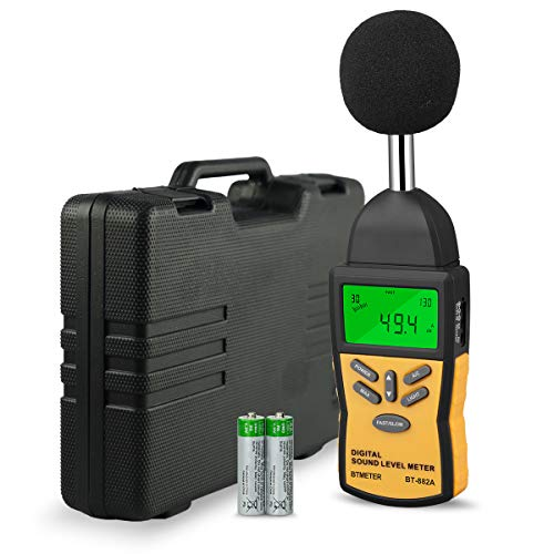 Decibel Meter- BTMETER BT-882A Digital Sound Level Meter Sound Pressure Level Reader(SPL) with 30-130dB Range for Noise Measurement