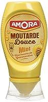 Découvrez la gamme de moutardes douces Amora Cette moutarde douce au miel apportera une touche de gourmandise dans vos vinaigrettes et vos quiches; elle ravira petits et grands ! Astuce : essayez-la dans vos vinaigrettes et vos quiches Graines de mou...