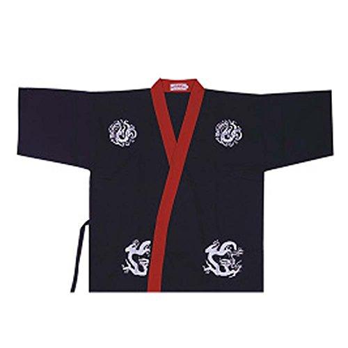 Sushi Bar Restaurant Chef Jacket Ropa Camarero Half Sleeve Uniforme Kimono Tops, # 09