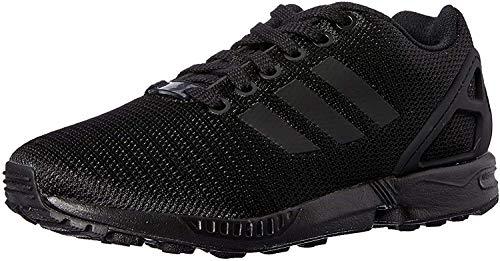 Adidas Zx Flux, Scarpe da Corsa Unisex Adulto, Nero (Core Black/Core Black/Dark Grey), 44 2/3