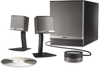 Bose Companion 3 Series II multimedia speaker system (Graphite/Silver) (Renewed)