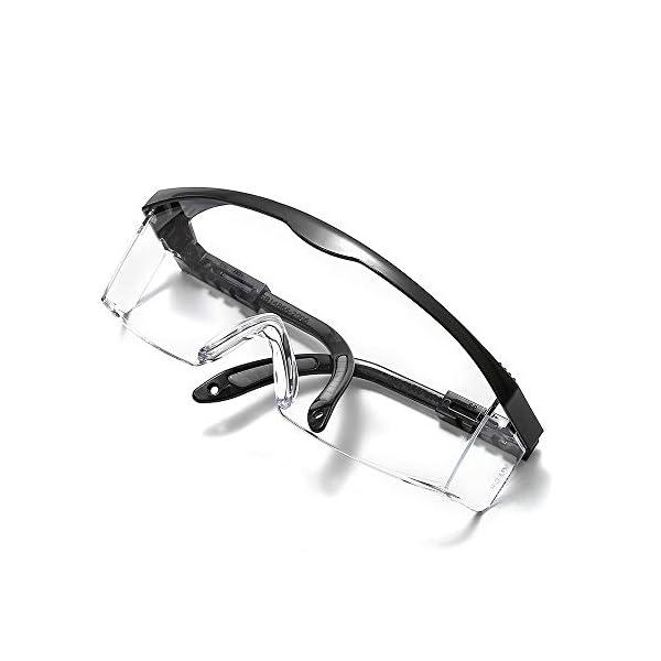 Suertree Gafas Gafas de Seguridad, Proteger los Ojos sobre Gafas Gafas industriales Gafas de Seguridad Transparentes Generales con EN166
