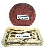 Anchoas del Cantábrico 400 gr y Boquerones en Vinagre del Cantábrico 700 gr netos de Anchoas y Boquerones elaborados en Santoña Artesanalmente a mano filete a filete Calidad Garantizada