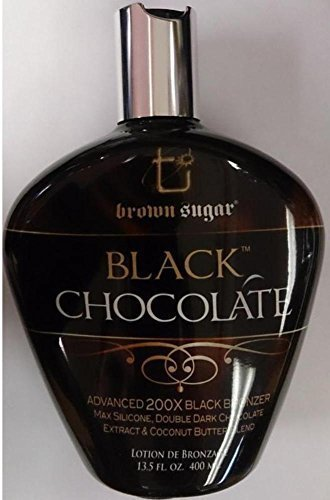 Black Chocolate 200X Black Bronzer Indoor Tanning Bed Lotion 13.5 Oz/400 Ml by TAN