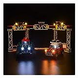 LAIQIAN Juego de iluminación LED para Lego Technic Speed Champions 1967 Mini Cooper S Rally y Mini John Cooper Works Buggy 2018, Compatible con Bloques de iluminación Lego 75894 - sin Juego Lego