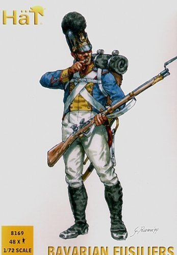 HaT 8169 Bavarian Fusiliers 1:72