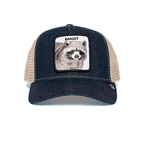 Goorin Bros. Trucker Cap Bandit Blau Navy, Size:ONE Size