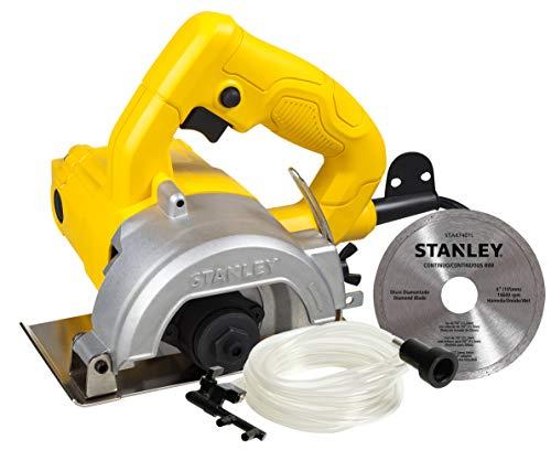 STANLEY Serra Mármore 1200W com Kit Refrigeração e Disco de 115mm 110V SPT115W