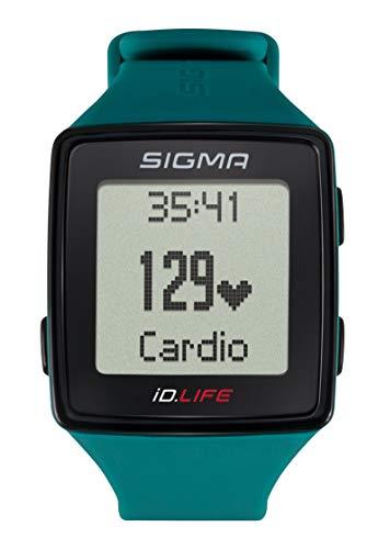 Sigma Sport Pulsuhr iD.LIFE pine green, Activity Tracker, Handgelenk-Pulsmessung, Grün