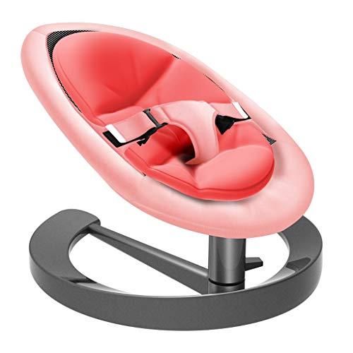 Xiao Jian- Chaise berçante pour bébé Chaise pour bébé inclinable Confort Chaise Berceau Nouveau-né avec des Enfants Qui dorment Chaise berçante bébé (Couleur : Red)