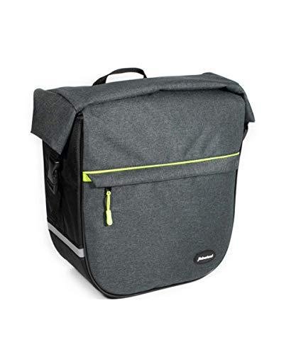 Haberland Einzeltasche Emotion EKS429 inkl. KLICKfix Kompaktschiene, anthrazit/grün