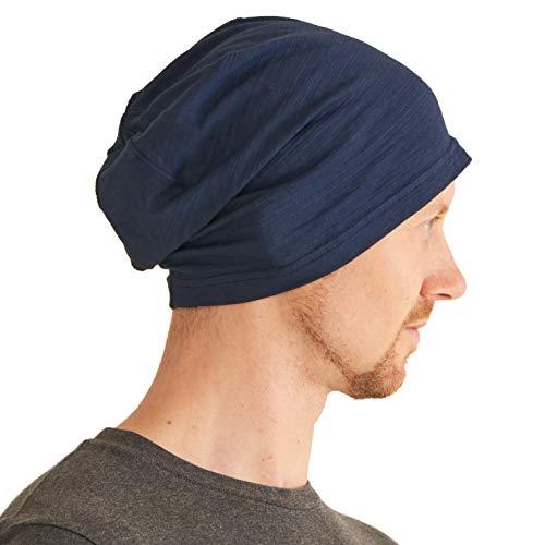 Gorra Ligera Verano para Hombre - Gorro de Mujer Slouchy Beanie Slouch 100% algodón Sombrero Elastico