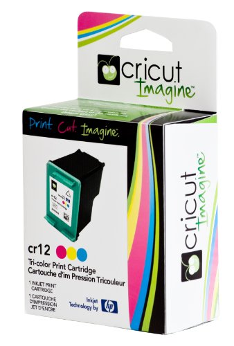 Cricut/HP Tri-Color Ink Print Cartridge, Exclusive for Cricut Imagine Machine