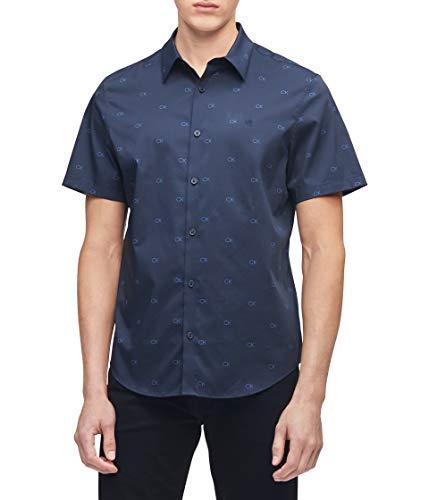 Camisa Manga Corta  marca Calvin Klein