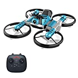 Tollk Lesse 2in1 2.4G RC Quadcopter Drone + Flying Motorcycle Modo...