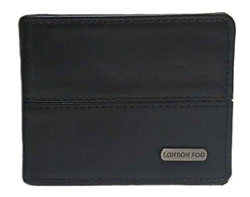 London Fog Men's Genuine Leather Wallets - Gift Tin Box...