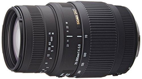 Sigma 70-300 mm F4,0-5,6 DG Makro-Objektiv (58 mm Filtergewinde) für Canon Objektivbajonett