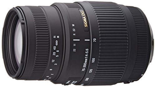 top rated Sigma 70-300mm f / 4-5.6 DG close-up telephoto zoom lens for Canon DSLR cameras 2020