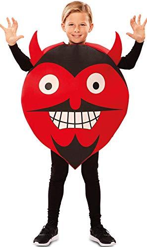 Disfraz de Emoticono Diablo para nios