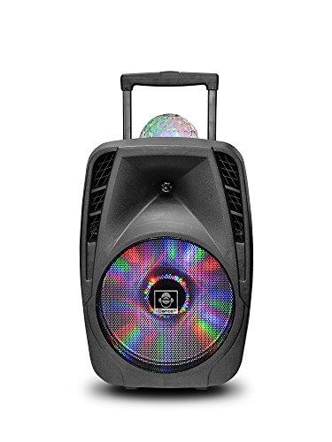 iDance Groove 216 - Altavoz Tipo Maleta, Color Negro