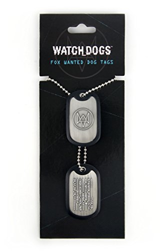 Watch Dogs Fox Wanted Dog Tags (Electronic Games)