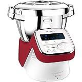 Moulinex - hf908500 - Robot cuiseur multifonctions 4.5l 1550w blanc/rouge i-companion xl