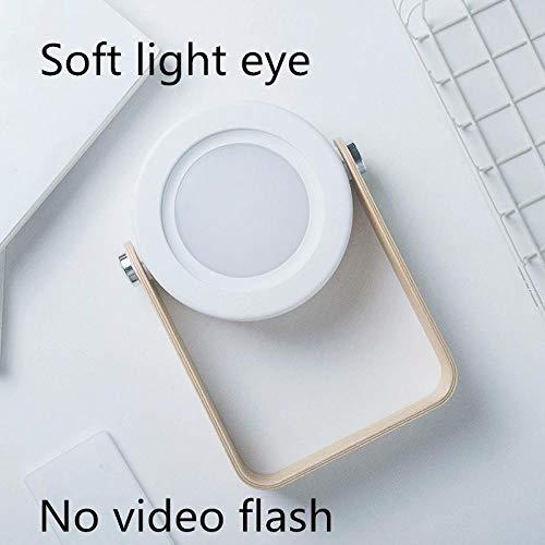 Nachtlampje Vouwen led Bureaulamp Opladen USB Nachtlampje Slaapkamer lamp Nachtlampje Leeslamp Buiten Lichtgrijs