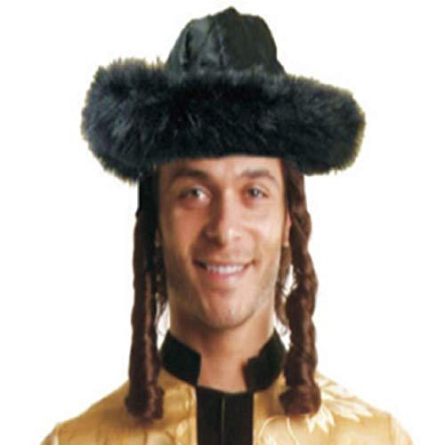 Dress Up America 462-BR Matzah Shtreimel Costume Brown, One Size