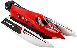 WLtoys WL915 2.4G Speedy F1 Racing Boat Water Cooling System Anti-capsizing RC Boat Toy - RED