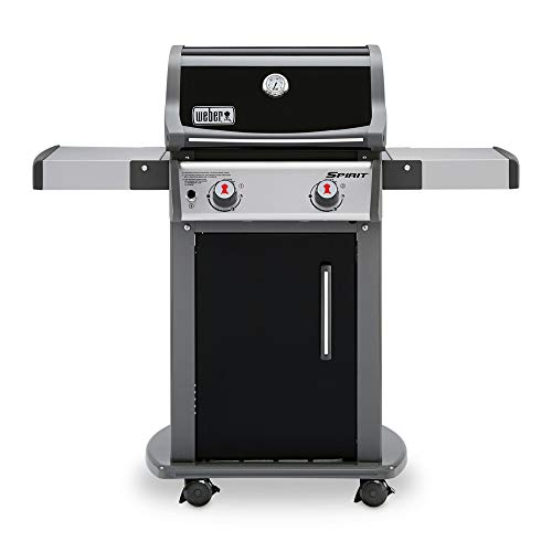 Weber 46110001 Spirit E-210 LP Gas Grill, Black,2 Burner