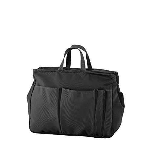 Prato Kosmetik Kultur Tasche 3 Liter, hochwertige Waschtasche für Damen, robuster Kulturbeutel für Reisen, sehr leicht mit Tragegriff, Hygienetasche für Mädchen, Reißverschluss und Steckfächer