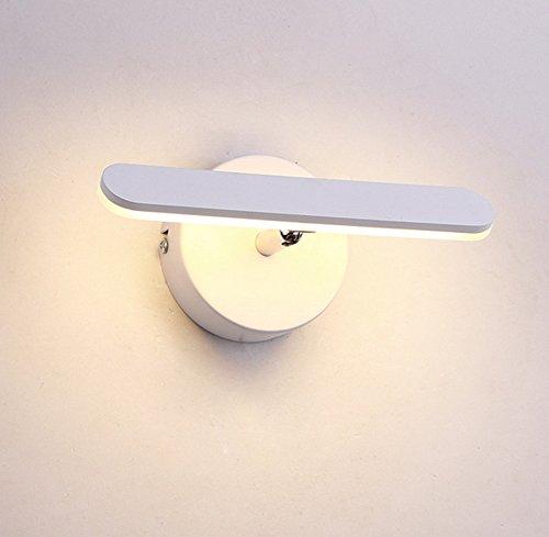 Moderne Minimaliste Mur Lampe Ultra-mince En Aluminium LED Salon Chambre Escalier Allée Lumières Salle De Bains Salle De Bains Miroir Phares , 1