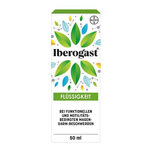 Iberogast® schnell und zuverlässig, besonders bei akuten Magen-Darm-Beschwerden, 50ml